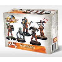 Resistance Starter Box v2 - Pilots set (Starter Box Resistance V2) for Eden from Happy Games Factory, 2017 - Miniature figure set review