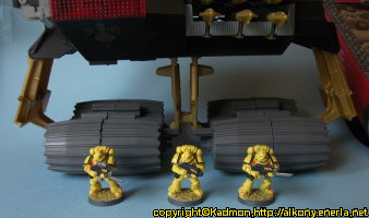 Combat vehicle in 1/18 scale (D.E.M.O.N. for G.I. Joe) from Hasbro, 1988 - Miniature vehicle review