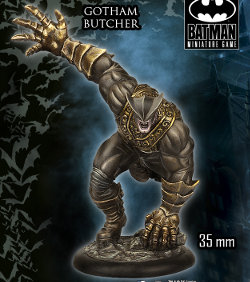 Gotham Butcher set for Batman Miniatures Game from Knight Models, 2015 - Miniature figure set review
