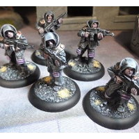 Infested Insurgents Squad set for Macrocosm from Macrocosm Miniatures - Miniature figure set review