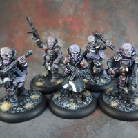 Malformed Host set for Macrocosm from Macrocosm Miniatures - Miniature figure set review