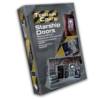 Starship Doors set for Star Saga from Mantic Games - Miniature scenery set review