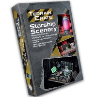 Starship Scenery set from Mantic Games - Miniature scenery set review