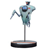 Futuristic non-humanoid robot - Curby for Star Saga from Mantic Games, 2017 - Miniature figure review