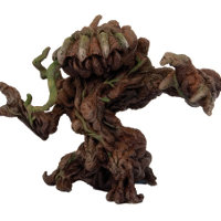 Humanoid plant in 1/56 scale - Avaran Treebeast for DreadBall from Mantic Games, 2014