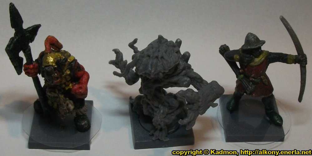 Animate plant in 1/56 scale - Avaran Treebeast for DreadBall from