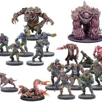 Plague Faction Booster Ed2 (for Deadzone Ed2) from Mantic Games - Miniature set review