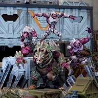Plague Monsters Booster set (for Deadzone Ed1) from Mantic Games - Miniature set review