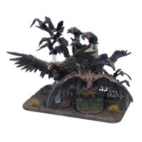 Plague Murderbirds set (for Deadzone Ed2) from Mantic Games - Miniature set review