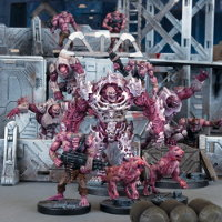 Plague Starter Set Ed1 (for Deadzone Ed1) from Mantic Games - Miniature set review