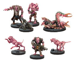 Plague Support Booster set (for Deadzone Ed1) from Mantic Games - Miniature set review