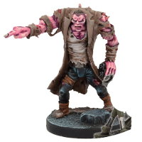 Humanoid in 1/56 scale (Plague Gen 3 Spotter for Warpath) from Mantic Games - Miniature figure review