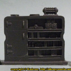 Cabinet #1 for Star Saga from Mantic Games, 2017 - Miniature scenery review