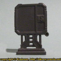 Computer Terminal #2 for Star Saga from Mantic Games, 2017 - Miniature scenery review