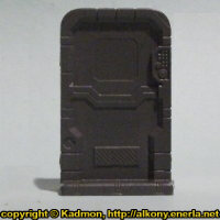 Single Door #3 for Star Saga from Mantic Games, 2017 - Miniature scenery review