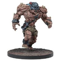 Large brute in 1/56 scale - Plague Gen 2 Subject 901 v2 for Warpath from Mantic Games, 2020 - Miniature figure review
