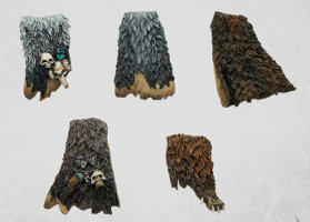 Fur cloaks from MaxMini