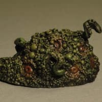 Blob in 1/64 scale - Shoggoth for Call of Cthulhu from Grenadier Models / Mirliton, 1983 - Miniature creature review