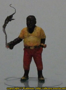 Modern gangster with cigar in 1/56 scale (Big T #2) from Pigeon Guard Games - Miniature figure
