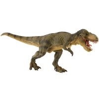 Giant biped carnivore (Green Running T-Rex) from Papo - Miniature creature review