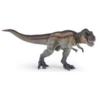 Giant biped carnivore (Running T-Rex) from Papo - Miniature creature review