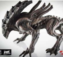 Quadruped alien carnivore (Alien Crusher for Alien vs Predator: The Hunt Begins) from Prodos Games - Miniature creature