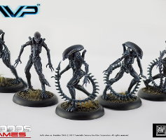 Alien Infants set (for Alien vs Predator: The Hunt Begins) from Prodos Games - Miniature set