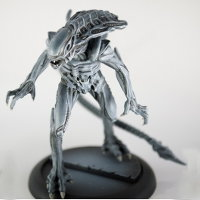 Humanoid alien carnivore (Alien Royal Guard for Alien vs Predator: The Hunt Begins) from Prodos Games - Miniature creature