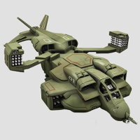 Cheyenne Dropship set for Alien vs Predator: The Hunt Begins from Prodos Games, 2016 - Miniature set review