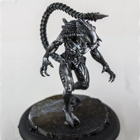 Humanoid alien carnivore (Alien Predalien for Alien vs Predator: The Hunt Begins) from Prodos Games - Miniature creature