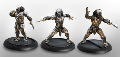 Predator Young Bloods set (for Alien vs Predator: The Hunt Begins) from Prodos Games - Miniature set
