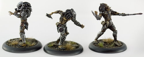 Humanoid alien warrior (Predator for Alien vs Predator: The Hunt Begins) from Prodos Games - Miniature figure