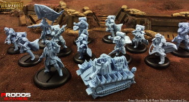 Imperial Starter Box (for Warzone Resurrection) from Prodos Games - Miniature set review