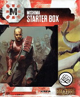Mishima Starter Box (for Warzone Resurrection) from Prodos Games - Miniature set review