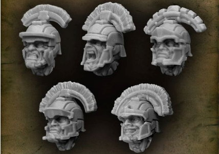 Centurion Open Helmet with Centurion Crest from Puppets War company