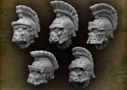Praetorian Closed Helmet with Praetorian Crest from Puppets War company