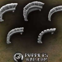 Praetorian Crests set from Puppets War - Miniature accessory set review