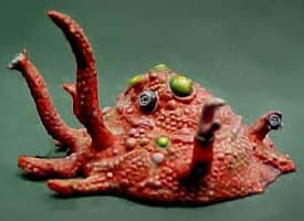 Blob with tentacles in 1/64 scale - Shoggoth, Protoplasmic Horror for Call of Cthulhu from RAFM - Miniature creature review