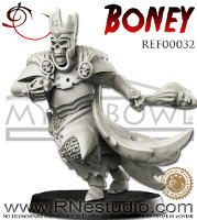 Humanoid skeleton in heavy armour (Boney for the Eternals team of Fantasy Football) from RN Estudio - Miniature figure review