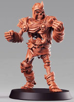 Humanoid skeleton in light armour (Skeleton #1 for the Eternals team of Fantasy Football) from RN Estudio - Miniature figure review