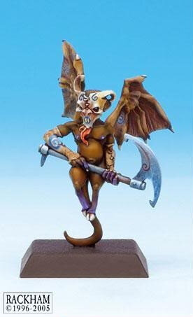 Winged imp (Reapers of Mid-Nor 2 #1) from Rackham - Miniature creature