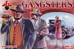 Gangsters set from RedBox - Miniature set review