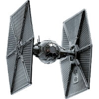 Flyer in 1/89 scale - TIE Fighter Pewter Collectible for Star Wars from Royal Selangor - Miniature vehicle review