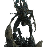 Creature in 1/200 scale - Alien King maquette for Alien & Predator from Sideshow Collectibles, 2013 - Miniature creature review