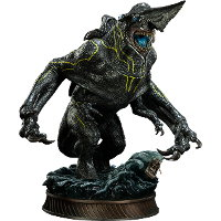 Creature in 1/200 scale - Knifehead statue for Pacific Rim from Sideshow Collectibles, 2013 - Miniature creature review