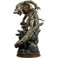 Creature in 1/200 scale - Slattern statue for Pacific Rim from Sideshow Collectibles, 2013 - Miniature creature review