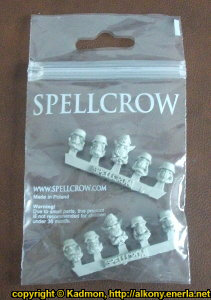 Blitzkrieg Orks Heads set from Spellcrow, 2012
