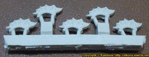 Dragon Knights Crests sprue from Spellcrow, 2015 - Miniature sprue review