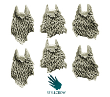 Fur cloaks from Spellcrow