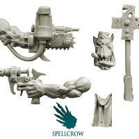 Ork Doctor - Conversion Set from Spellcrow, 2012